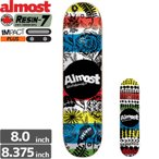 オルモスト ALMOST デッキ PRIMAL PRINTS IMPACT PLUS 8.0/8.3 NO106