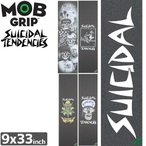モブグリップ MOB GRIP デッキテープ SUICIDAL TENDENCIES GRIPTAPE 9 x 33 NO129