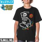 ショッピングサンタ サンタクルズ SANTA CRUZ キッズ Tシャツ SKATE RIOT YOUTH TEE ユース サイズ NO42