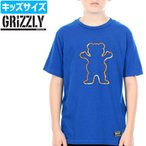グリズリー GRIZZLY キッズ Tシャツ TIE DYE OUTLINE OG BAER YOUTH ユース NO2