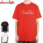 チョコレート CHOCOLATE スケートボード Tシャツ HERITAGE ORIGINAL SCRIPT NO134