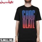 チョコレート CHOCOLATE Tシャツ BIG CHOCOLATE FADE TEE NO143