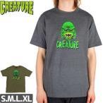 CREATURE クリーチャー スケボー Tシャツ BLACK LAGOON TEE NO108
