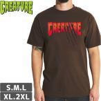 スケボー Tシャツ クリーチャー  CREATURE  TEEN WOLF REGULAR TEE  ダークチョコレート  NO123
