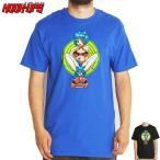 HOOK UPS フックアップ スケボー Tシャツ MISS KITTY TEE ブラック ブルー NO15