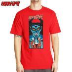 HOOK UPS フックアップ スケボー Tシャツ DEMON HUNTER TEE レッド NO27