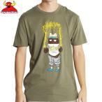 トイマシーン TOY MACHINE スケボー Tシャツ POO POO F.U. TEE アーミー グリーン NO221