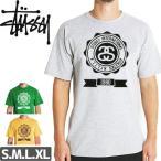ステューシー STUSSY Tシャツ ATHLETIC SALE グリーン・イエロー・ブラック・グレー NO205