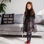 秋冬 子供ワンピース 女の子ドレス