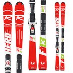 14-15  ロシニョール ROSSIGNOL HERO FIS SL R20 Racing AXIAL3 120 MFX WHITE RED DIN 3.5-12 (金具付き) 150cm