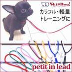 SkipDog! プチインリード (チワワ 小型犬 ショーリード 首輪 小さい 軽い トレーニング)