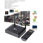 KIII アンドロイドテレビボックスTV BOX 入手困難アプリ多数導入済み4K2K、Full HD、H.265 3D WiFi対応 無料でTV、ドラマ、映画観放題!綺麗