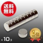 小さくても 超強力 磁石 10個セット 円柱形ネオジウム磁石 マグネット 6mm×3mm 鳩よけ