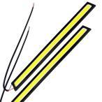 【メール便 送料無料】薄さ4ミリ 12W 完全防水 強力 ムラ無し 全面発光 LED COB デイライト バーライト パネル イルミ 17cm長