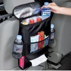 【メール便 送料無料】シート バック ポケット 収納 車のシートに楽々取付け ティッシュカバー 保冷バッグ ドリンク 小物 ホルダー