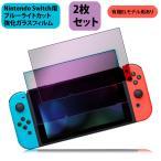 ニンテンドー スイッチ ガラス フィルム ブルーライトカット Nintendo Switch 本体 用 保護フィルム 任天堂スイッチ 液晶画面保護フィルム Nintendo Switch