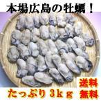 牡蠣 かき カキ 冷凍 2LからLサイズ 3kg 剥き身 広島県産
