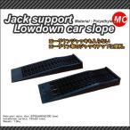 ジャッキサポートローダウンカースロープ(2個入り)