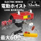 電動ホイスト(電動ウインチ) 600kg 1200W電動モーター搭載
