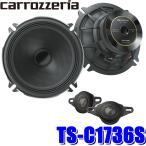 [在庫あり]TS-C1736S カロッツェリア 車載用17cm2wayセパレート カスタムフィットスピーカー