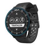 GPS搭載マルチスポーツウォッチ 心拍センサー スポーツ&フィットネスモード ゴルフ機能 Bluetooth4.0 iOS/Android 軽量 省電力防水 日本語マニュアル TW-410