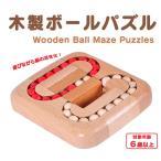木製ボールパズル ボードゲーム 迷路ゲーム 天然木材 色揃え 教育玩具 脳トレ 子供から大人まで楽しめる 想像力 集中力 向上 暇つぶし プレゼントにも WOG32S