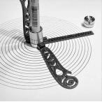 多機能ドローイングツール 建築定規 曲線 定規 カーブルーラー 図形テンプレート 模様描き 栓抜き マルチ機能金属定規 スケール 曲線 ステンレス MAG17CM