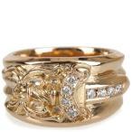 戒指 - CHROME HEARTS DAGGER RING PAVE DIAMOND GOLD クロムハーツ ダガーリング 22金 PAVEダイヤモンド  指輪