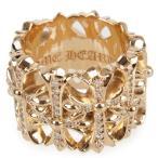 戒指 - CHROME HEARTS CEMETERY RING 22K DIAMOND クロムハーツ セメタリーリング 22金 パヴェダイヤ