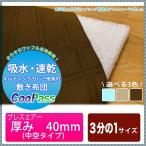 東洋紡のブレスエアー® を使った敷布団 中芯は中空タイプ(厚さ40mm) 硬め シングルサイズの1/3(3分の1) 約950×690mm cool pass