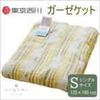 タオルケット ガーゼケット nagomi なごみ ひょうたん柄 NN2050 東京西川 シングル