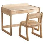 セット フィオレ 木製キッズデスク + キッズチェア   イス 引き出しつき テーブル 石崎家具 SHIMOOKA シモオカ