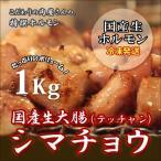 しま腸1kg,しま腸(焼用) 1kg,焼肉 バーベキュー BBQ もつ鍋 てっちゃん シマ腸 メガ盛り1kg