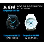 【別注】DEATHSIGHT×SLOW CLOTHING LOGO Watch ターコイズ【2カラー】