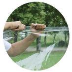 タープ 屋外/庭/テラス/キャンプテントのための防水シートポリ塩化ビニールの防水シートの防水透明な布 (Size :