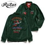 ROTAR ローター EASTERN MARK Souvenir Jacket ベロアスウィングトップ GREEN 日本製