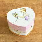オルゴール バレリーナ 回転 宝石箱 ジュエリーボックス プレゼント 小物入れ おもちゃ 女の子 かわいい ENCHANTMINTS オルゴール付きジュエリーBOX  ハート
