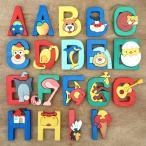 ショッピングパズル ハンガリー FAUNA ファウナ 木製 アルファベットパズル A〜N
