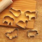 クッキー型 セット 動物 クッキーカッター かわいい Gluckskafer グリュックスケーファー ミニクッキー型セット アニマル メール便対象品