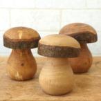 ドイツ Waldfabrik ヴァルトファブリック 木製 きのこ オブジェ 大 置物 オーナメント かわいい おしゃれ 飾り