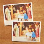 エルサベスコフ ポストカード 2枚セット ご降誕 絵本作家 北欧 かわいい イラスト おしゃれ メール便対象品