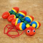 プルトイ おもちゃ 木製 出産祝い かわいい 引き車 玩具 木のおもちゃ ドイツ Walter ヴァルター プルトーイ むかで
