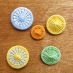 チャルカ チェコの糸ボタン おすすめセット ボタン かわいい おしゃれ セット 手芸 パーツ 入園 入学 女の子 メール便対象品