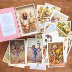 イギリス出版 ポストカード セット フラワーフェアリー 花の妖精