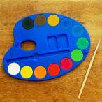 イタリア MOROCOLOR モロカラー キッズ固形水彩絵の具パレット 12色