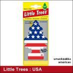 星条旗 リトルツリー エアーフレッシュナー USA かわいい(ネコポス対応)