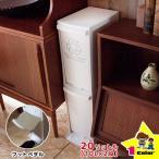 ゴミ箱 分別 スリム 2段 20リットル/20L ペダル式(下段)ごみ箱 ダストボックス スリム 隙間 分別 2段 縦 ゴミ箱 ふた付き