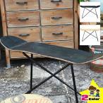 サイドテーブル 木製 スケートボード アンティーク スケボー板 おしゃれ シンプル ウッドテーブル 北欧 ミッドセンチュリー ミニテーブル スリム
