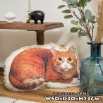 猫 クッション かわいい アニマルクッション 動物 リアル
