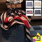 ブランケット ひざ掛け 大判 アメリカンなUSA国旗の星条旗おしゃれ シートブランケット(星条旗/ドット/星柄/ニット/織り) 膝掛け おしゃれ